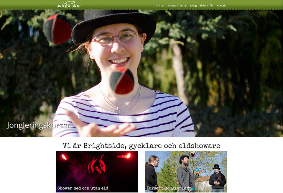 Brightsides webbsida